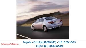 2007 Toyota Corolla (300n/mc) – pictures, information and specs ...