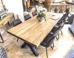 Design Esstisch Holz Amazing Amazing Design Tisch Holz Metall Ue