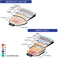 Punctilious Seating Chart For Heinz Hall Pittsburgh Pa Heinz