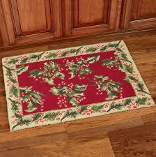 red throw rug australia