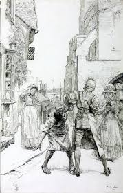 Illustration To Sally In Our Alley Edwin Austin Abbey 1886 Tate