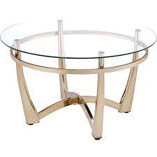 champagne coffee table acme furniture ii coffee table in champagne clear glass champagne color coffee table