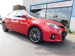 2016 Used Toyota Corolla S Plus, Full Factory Warranty at Schmitt ...