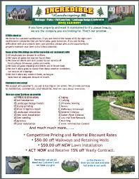 Sample Flyers For Landscaping Business Lawn Care Flyers Examples Faveoly