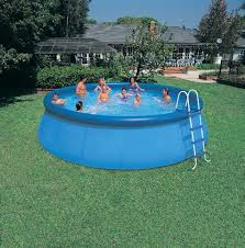 above ground inflatable pool.  Above Inflatable Outdoor Above Ground Pools Intended Above Pool A