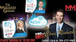 Reshair Radio Show Every Sunday on ESPN 730 at 10:00am!
