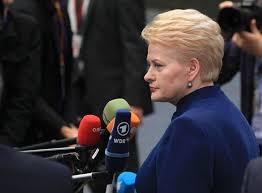 Президент Литвы назвала Россию террористическим государством СНГ  Президент Литвы Даля Грибаускайте