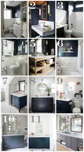 Decor For Bathrooms best 25 navy bathroom decor ideas navy blue 1043 by uwakikaiketsu.us