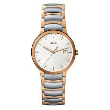 rado men s steel pvd gold bracelet watch ernest jones rado men s steel pvd gold bracelet watch product number 9446613