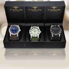 1 aday holiday gift guides stuhrling 3pk men s watch gift set watch gift set tablet