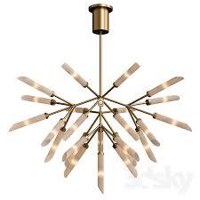 tech lighting spur grande chandelier