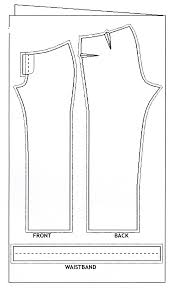 Mens Pants Pattern Impressive How To Cut Out The Pattern For Men's Pants Fashion Freaks