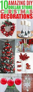 Diy Christmas Decorations Dollar Store Cheap Christmas
