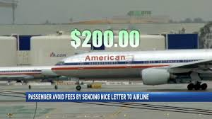 Letter To Airline Passenger Avoids Fees By Sending Nice Letter To Airline Wpmi