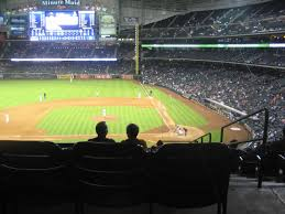 Houston Astros Club Seating At Minute Maid Park