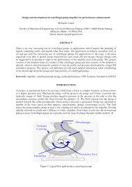 Centrifugal Compressor Impeller Design Pdf Centrifugal Impeller Design Wiring Schematic Diagram 10