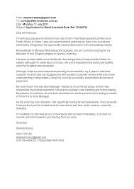 Examples Of Cover Letter For Cv Example Cover Letter Resume Examples