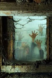 ... Halloween Haunted House Ideas Window Decorations To Spook Up Your  Neighbors Home Design 5 ...