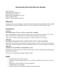 Intern Resume Examples Breathtaking Internship Resume Examples Of Illustrative Essay Free 18