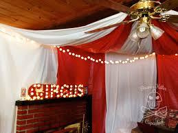 circus party decor