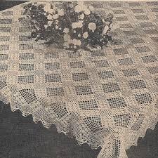 Crochet Tablecloth Pattern Magnificent Crochet Tablecloth Patterns Cottageartcreations