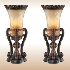 chitrita table lamp pair bronze touch to zoom