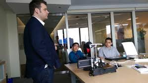 job shadow day the it knowledge and abilities network itkan matt mead spr cto kicks off job shadow day students from cics northtown