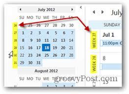Week Number Calendar How To Add Week Numbers To Your Outlook 2013 Calendar