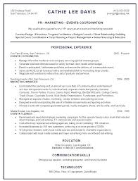 Marketing Coordinator Resume Sample Resume For Your Job Application