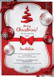 Party Invites Templates Free Christmas Invitation Template Word Christmas Party Invitation