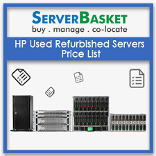 Hp Server Comparison Chart Hp Servers Price List