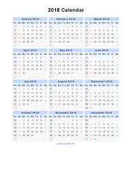 blank 2018 calendar 2018 calendar word yearly printable calendar