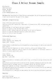 School Bus Driver Job Description For Resume Free Resume Example
