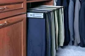 pant rack closet pants pull out hanging