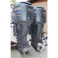 yamaha 250 outboard. pair of 2004 yamaha 250 hp fourstroke outboard motors yamaha outboard o