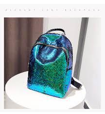 <b>Glitter Bling Sequins</b> Backpack Women Large Capacity Mochila ...