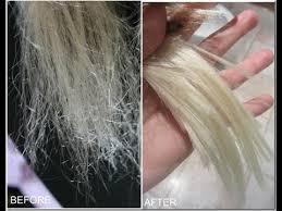 how to repair very damaged hair