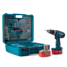 makita cordless drill battery. makita 8391dwpetk 18v cordless combi drill (2 batteries) with 101 piece accessory set battery 2