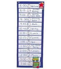 Schedule Pocket Chart