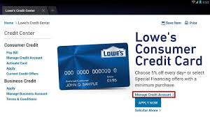 Lowes Commercial Credit Card Application Lowes Credit Card Login Www Lowes Com Lowes Online Sign In