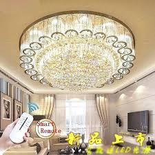 flush mount bedroom chandelier modern crystal