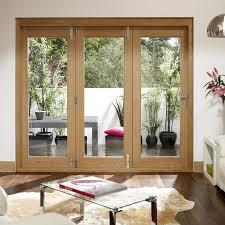 Concept Folding Patio Doors A Fantastic Set Of La Porte Vista Oak And Design Ideas