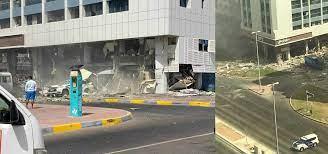 انفجاران في الامارات   مرصد الشرق الاوسط و شمال افريقيا