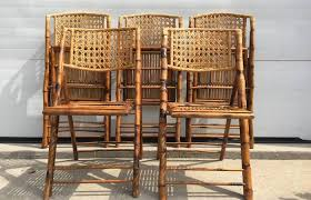 R  Modern Patio And Furniture Medium Size Folding Rattan Chairs Bamboo  Wicker For Cozy Beach Scorched Bamboo