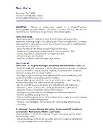 Supply Chain Management Resume Objective Resume Ideas Supply Chain