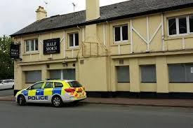 the vacant half moon inn on torquay road in paignton has been secured after recent anti