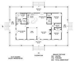 655869  4 Bedroom 3 Bath Country Farmhouse With Open Floor Plan Country Style Open Floor Plans