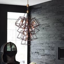 fulton large 13 light foyer chandelier pendant in bronze