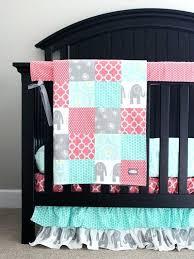 grey nursery bedding set custom crib bedding baby bedding mint grey elephant and c baby girl bedding pink and grey chevron crib bedding sets