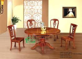 wooden dining table chairs china oak wood round chair set pictures for